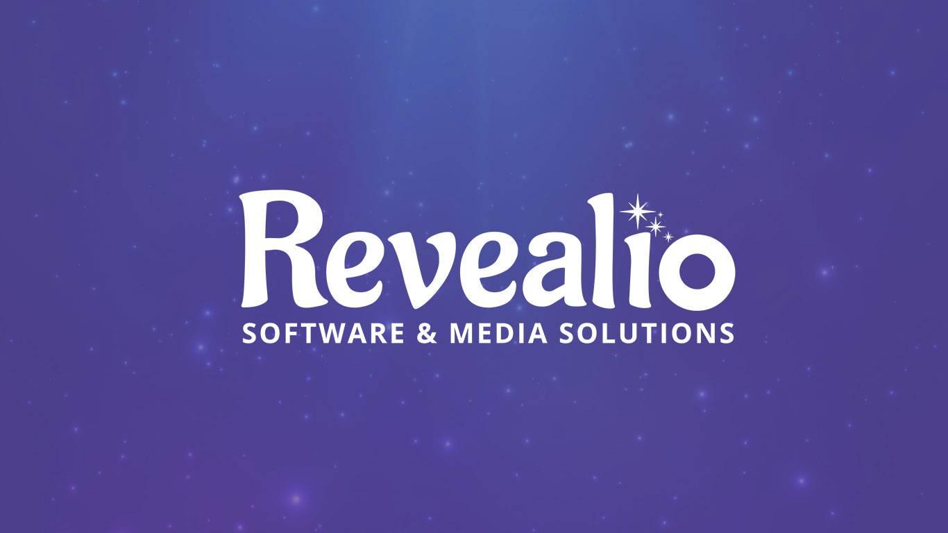 Revealio software and media solutions logo