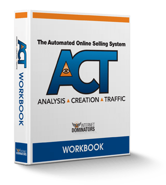 ACT program logo, stands for analysis, creation, traffic