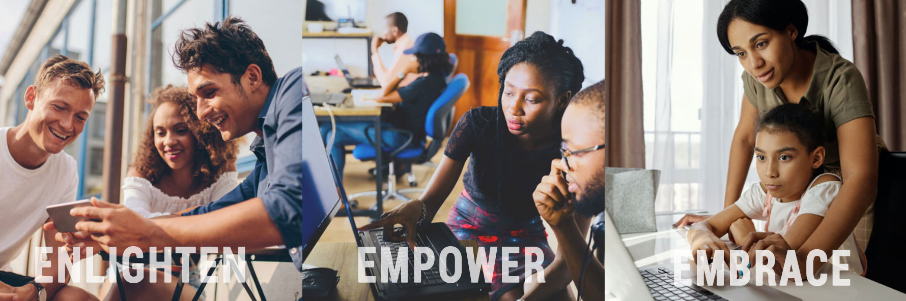 Enlighten, empower, embrace, these are the three main things Tech With Heart Foundation represents